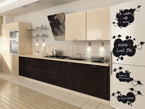 stickers ardoise frigo