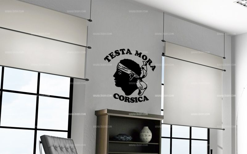 Stickers testa mora Corsica