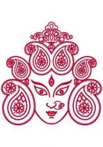 Stickers t�te de Bouddha.