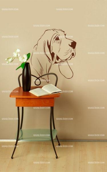 stickers muraux chien