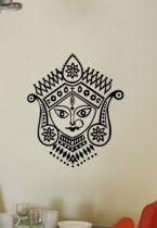 Stickers tête Hindouiste.