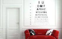 stickers texte optique