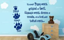 Stickers texte ours