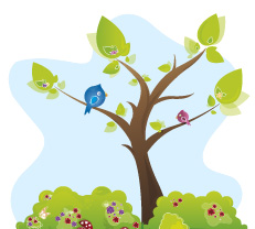 Stickers arbre enfant