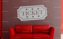 Stickers ticket de cinéma