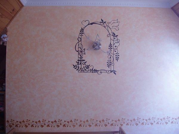 Stickers Tonnelle, décoration mariage en vente sur Idzif.com