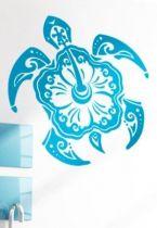 Stickers tortue façon maori