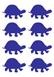 Stickers tortues