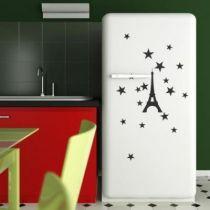 Stickers Tour Eiffel et étoiles