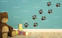 stickers traces de tigre