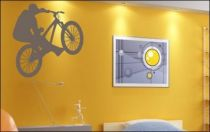 Le stickers vélo VTT pour décorer sur le thème du sport