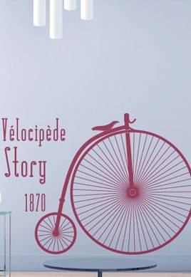 Stickers vélocipède
