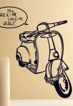 stickers muraux vespa