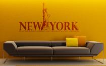 Le stickers ville de New-York pour la déco d\'intérieur
