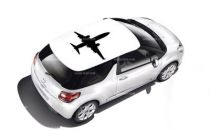 Stickers voiture avion