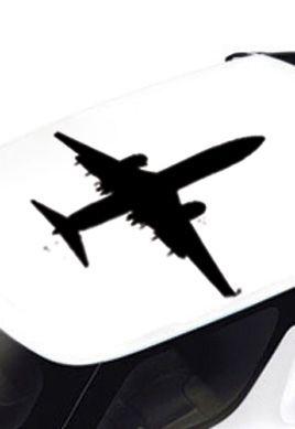 Stickers voiture avion