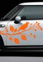Stickers voiture branche