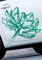 Stickers voiture éclosion florale