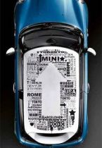 stickers voiture mini
