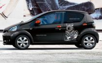 Stickers voiture tigre