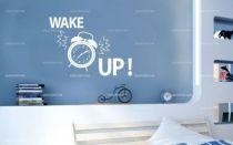 Stickers wake up