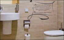 Le stickers wc confort pour une d�coration originale pour les wc