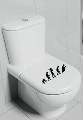 Stickers WC évolution
