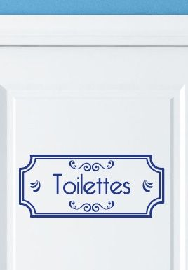 stickers toilettes