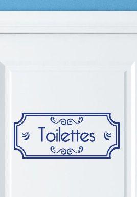stickers toilettes