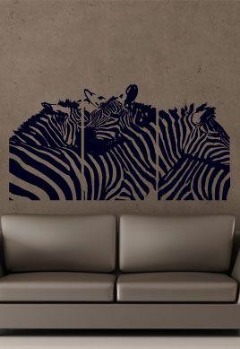 stickers muraux animaux afrique