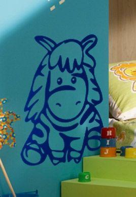 Stickers zèbre pour chambre de bébé